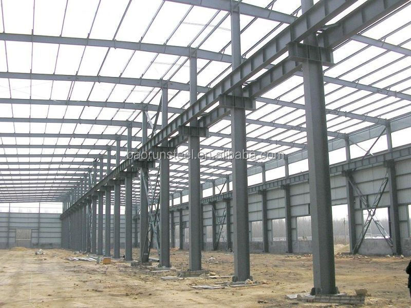 2015 prefabricated light steel structure/workshop/warehouse