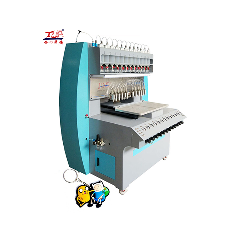 jinyu automatic pvc key chains tag making machine
