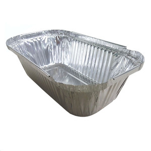 disposable aluminum foil container for taken away food fast food packaging aluminum foil container ,tray