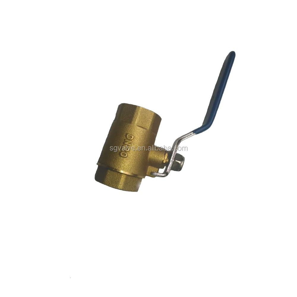 F-BSP brass ball valve