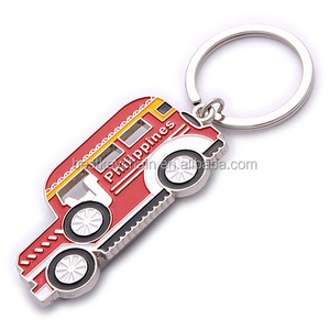 hot sales souvenir custom philippines metal keychain