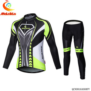 Custom Cotton Polyester long sleeve specialized cycling jersey
