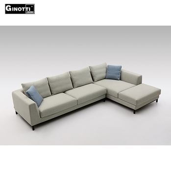 high range wooden frame fabric home furniture sofa sets factory in china - Wooden Frame Sofa