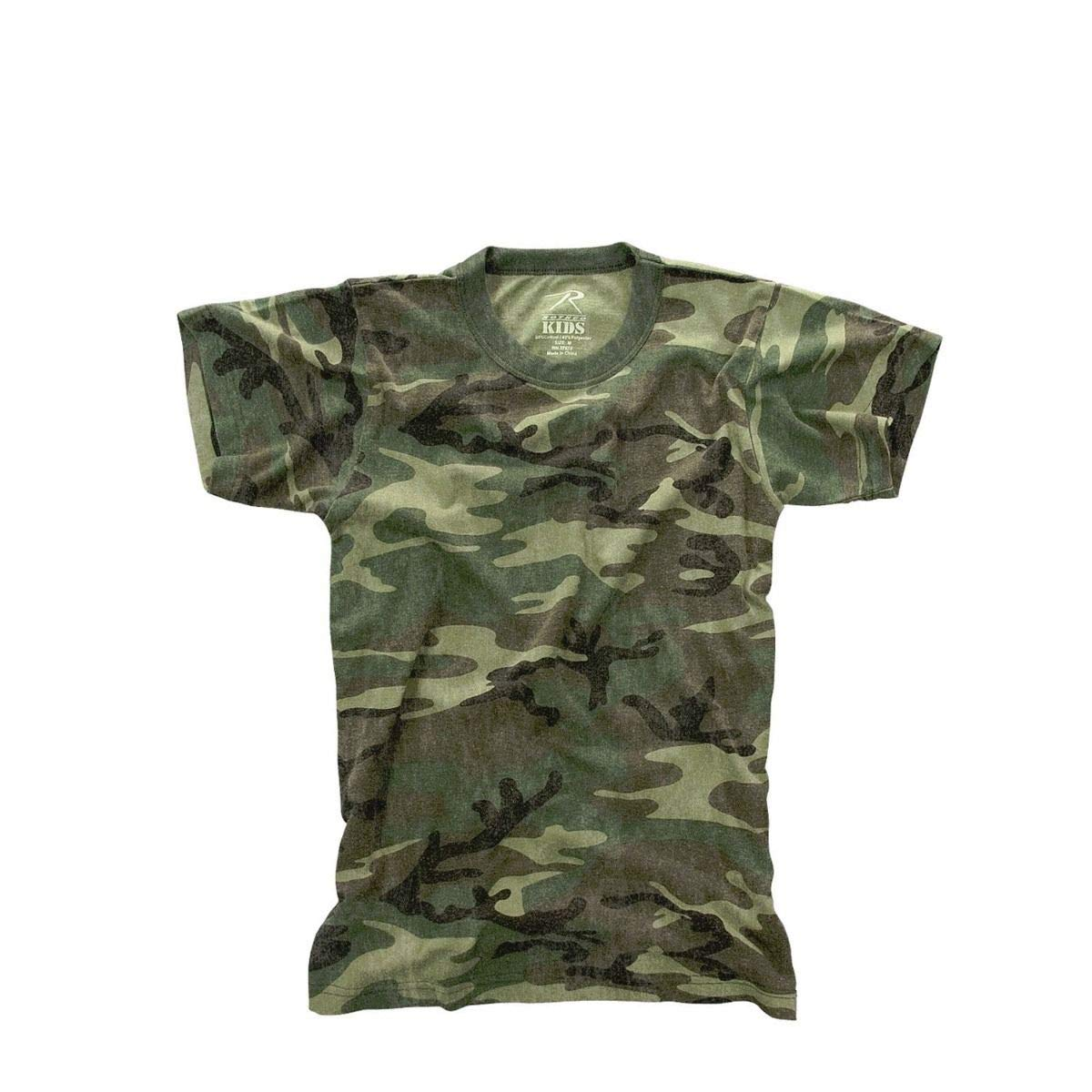 CAO outdoor product Kids Vintage Camo Short Sleeve T-Shirt