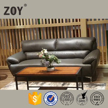 ZOY-99210 Italian Leather Sectional Living Room Soft Comfortable Sofa Set 2+3