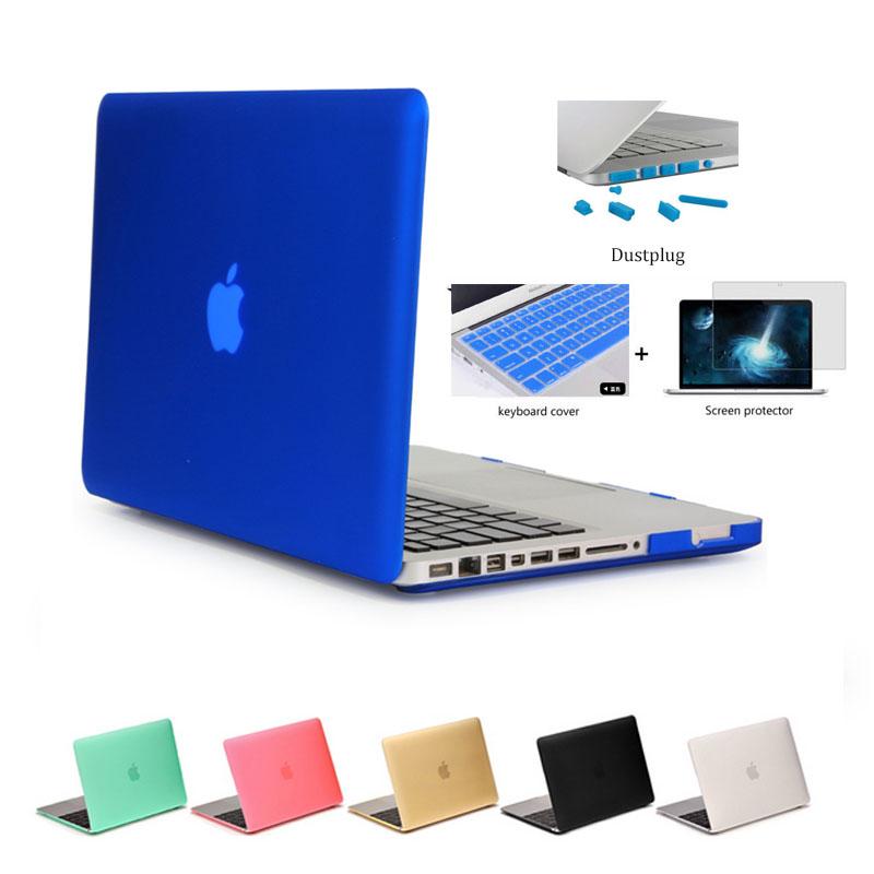 2016 notebook case matte case for apple macbook air pro retina 11 12 13 15 laptop bag for mac. Black Bedroom Furniture Sets. Home Design Ideas