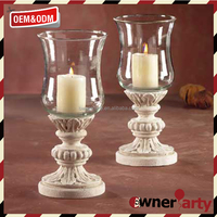Home Decoration White Pillar Candle Stand