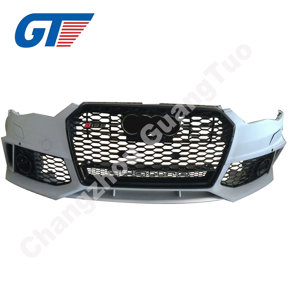 2016 Front bumper for Audi A6 RS6 with all accessories