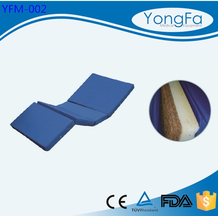 YFM-002 Factory Direct Hospital Bed Memory Foam Mattress For Two Functions Bed