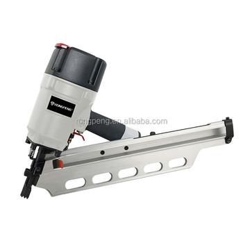 Factory Price Furniture Staple Gun RongPeng Professional Air Nailer Framing  Nail Gun