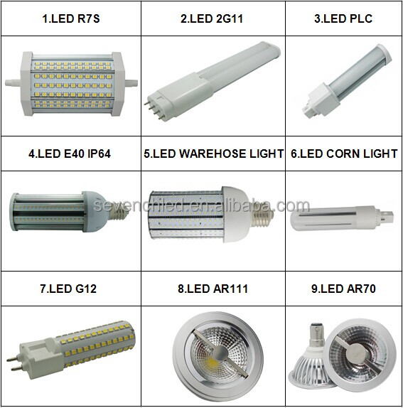 Small Size R7s Dimmable Led Bulb With 360degree 25mm Diameter 10w ...