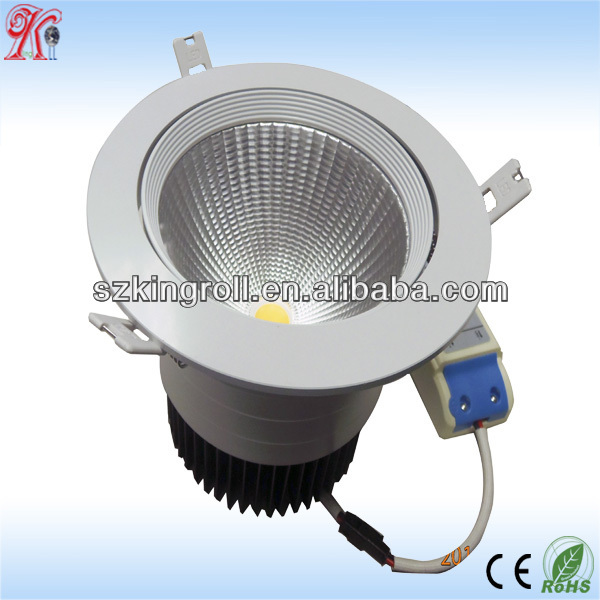 30w 35w Led Downlight Gu10 With 140mm Cut Out
