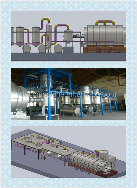 LOW PRICE and High quality Chinese produce Waste Tire Oil Refining Equipment