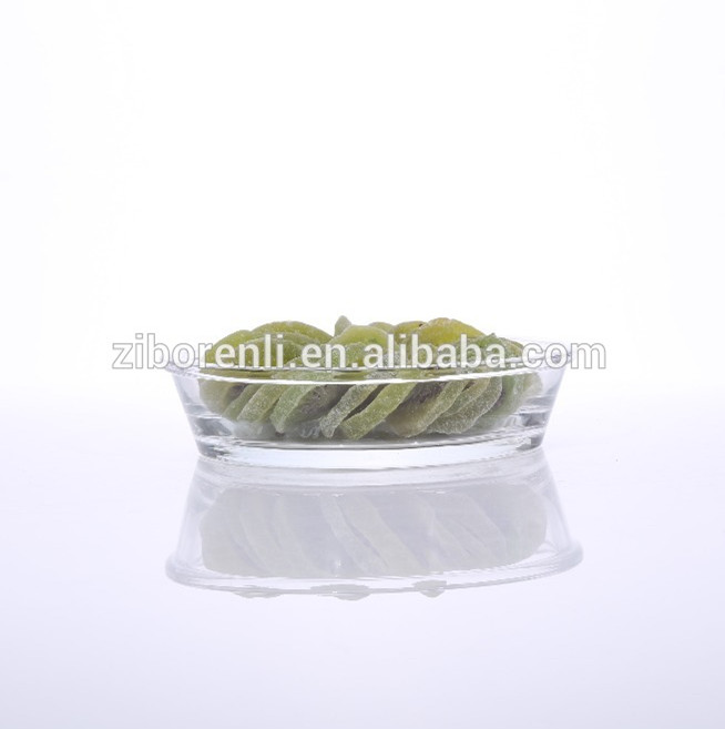 Tempered Clear Prex Glass Microwave Oven Plate Used In Restaurant