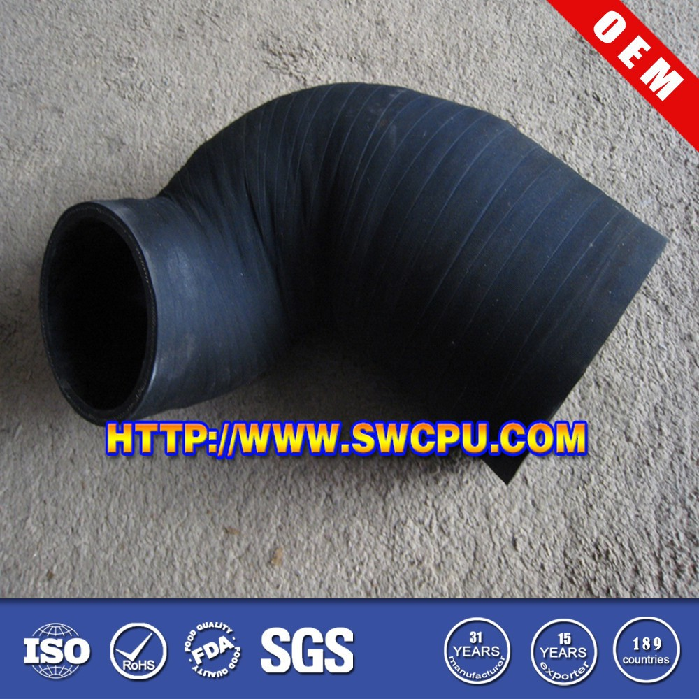 Cloth Insert Rubber Reducing Tube