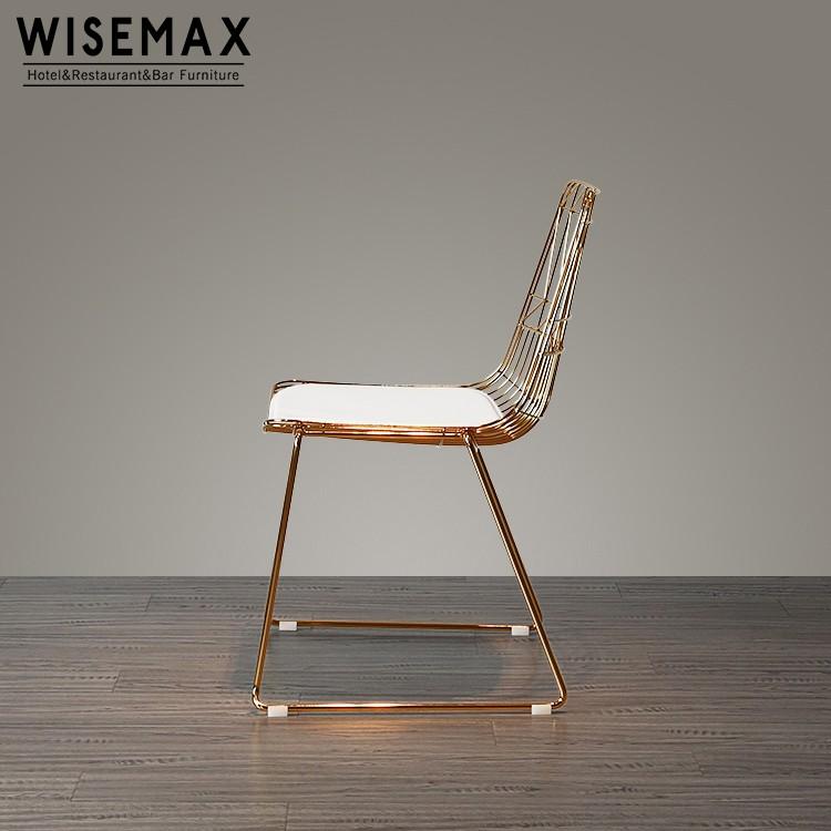 Luxury Modern Wholesale Leisure Chair Replica Bertoia Wire