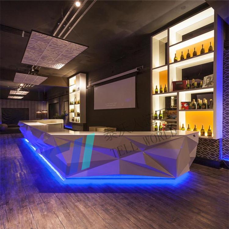 Fancy Commercial Led Nightclub Bar Furniture Restaurant