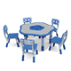 (HC-2506) Competitive cheap kindergarten school desk prices children mdf furniture desk chair Used daycare furniture