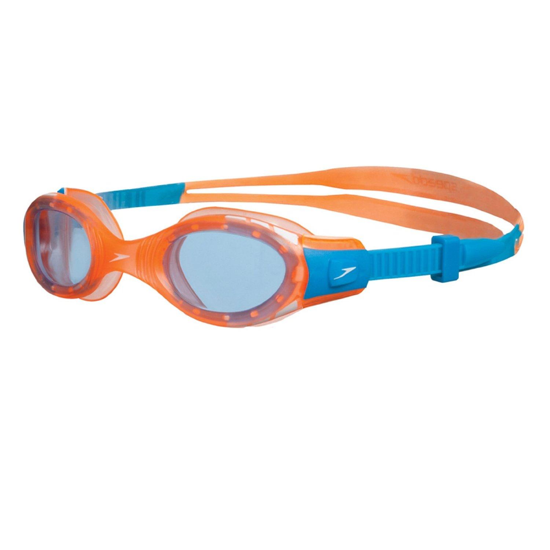Swimming Goggles Blue//Orange Speedo Jet V2 Goggle Junior