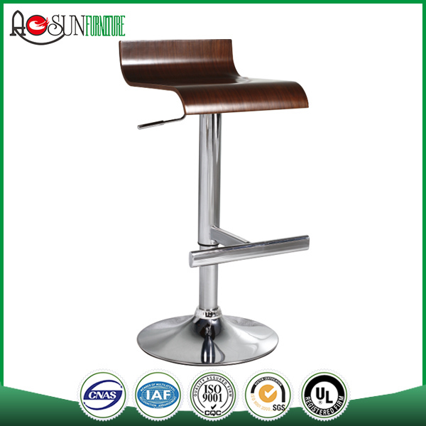 Stool supplier ISO 9001 Factory Night club use metal frame barstool