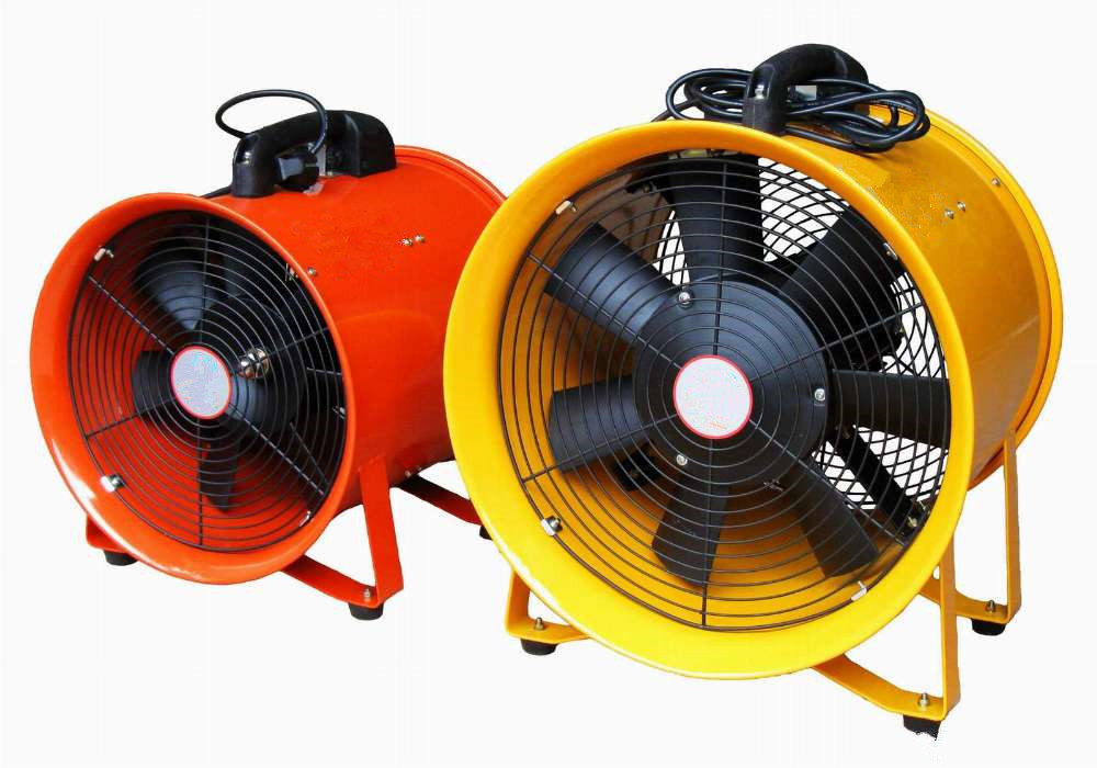 Portable axial industrial fan sht 40 axial exhaust fan Commercial exhaust fan motor