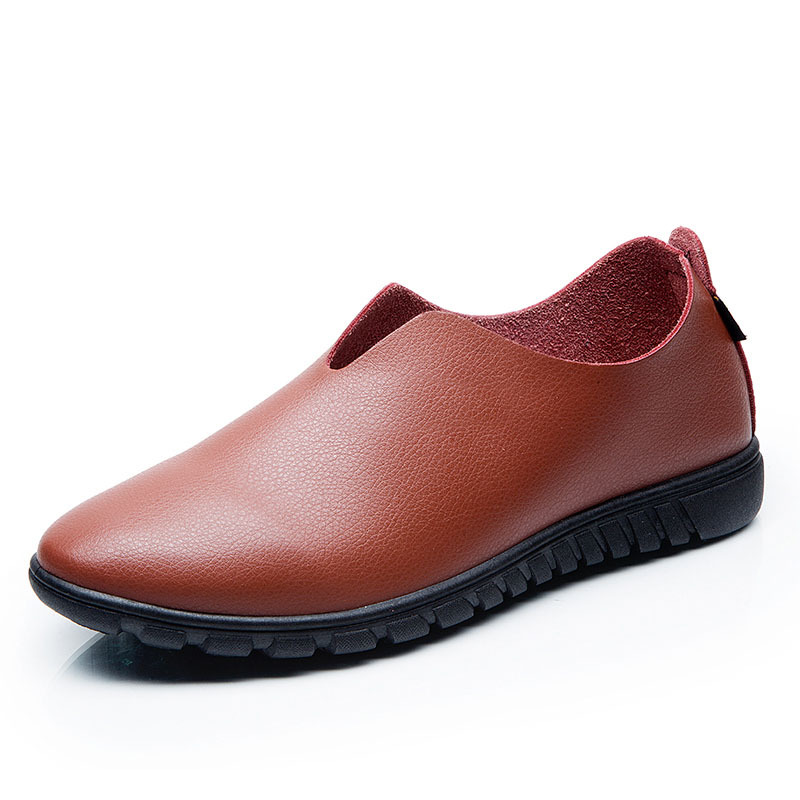 Men Leather Shoes Casual New 2015 Spring Autumn Brand Genuine Leather Mens Loafers Slip on Shoes for Men Flats Driving Shoes