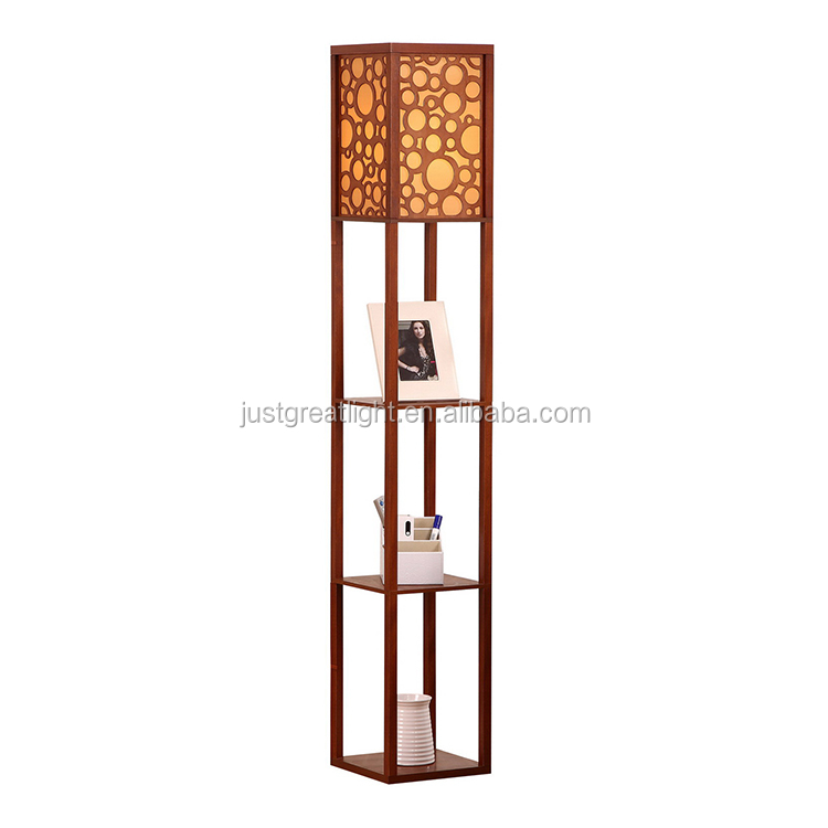 Factory design classical floor lamp brass antique