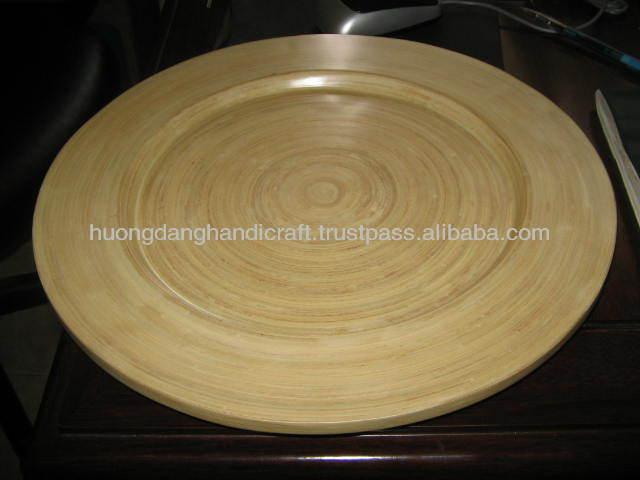 Bamboo Charger Plate Bamboo Charger Plate Suppliers and Manufacturers at Alibaba.com & Bamboo Charger Plate Bamboo Charger Plate Suppliers and ...