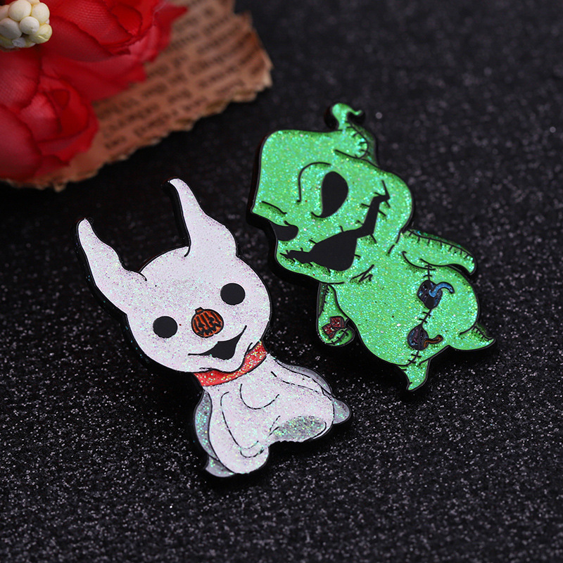 direct sell metal glow in dark hard  enamel pin glitter custom bulk lapel pins