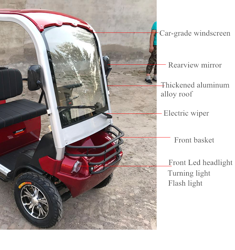 Electric golf cart battery powered car with many color for choice and factory wholesale prices