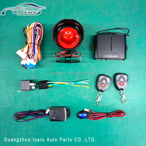 12v reasonable price general plastic keyless car alarm