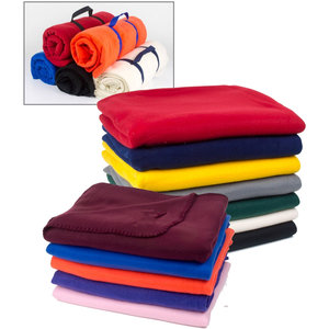 Good Prices Promotional Polar Fleece Blankets,Airline Blankets