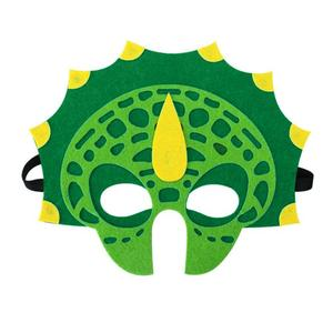 2018 High Quality Cheap Fancy Carnival Unique DIY Mask Felt Dinosaur Mask For Party