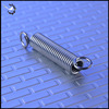 Custom metal stainless steel tension coil springs