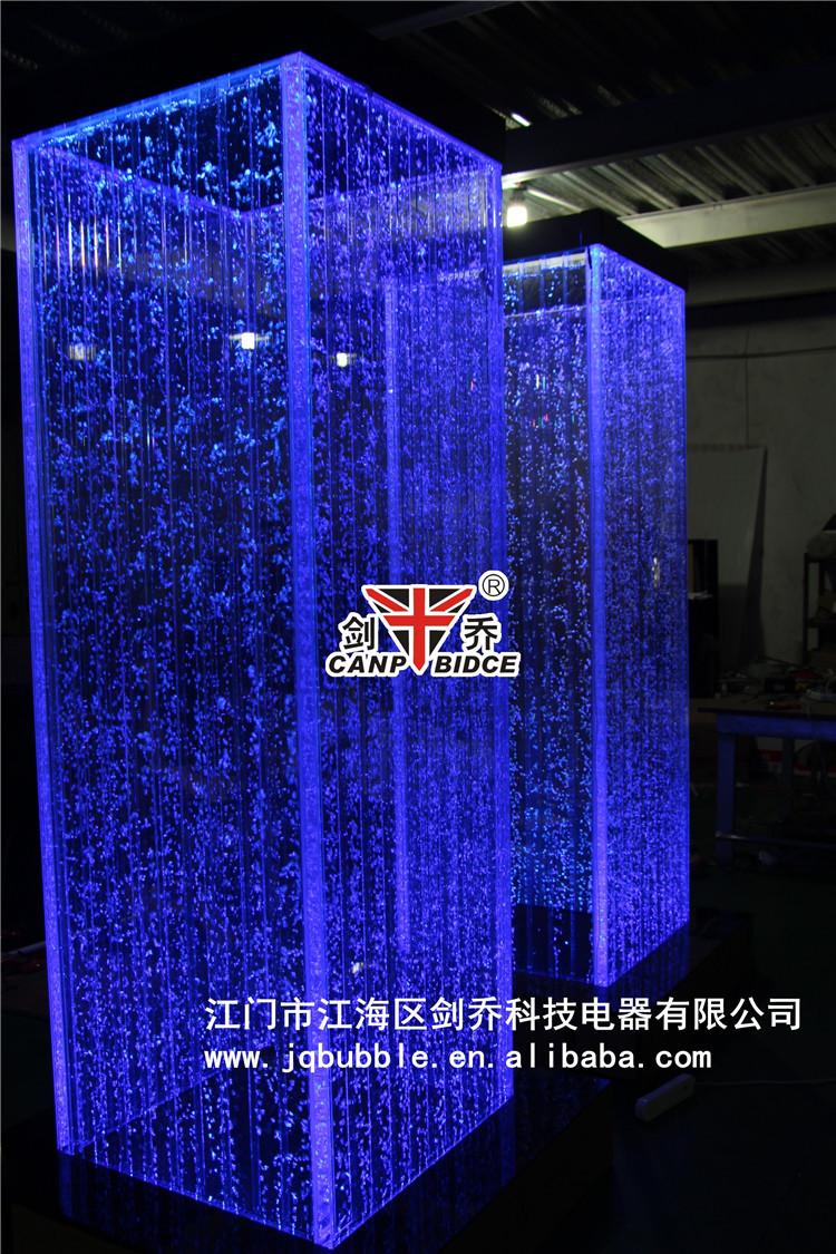 interior design for cafe acrylic plexiglass led aquarium bubble