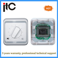 Professinal audio pa system volume control switch for pa system