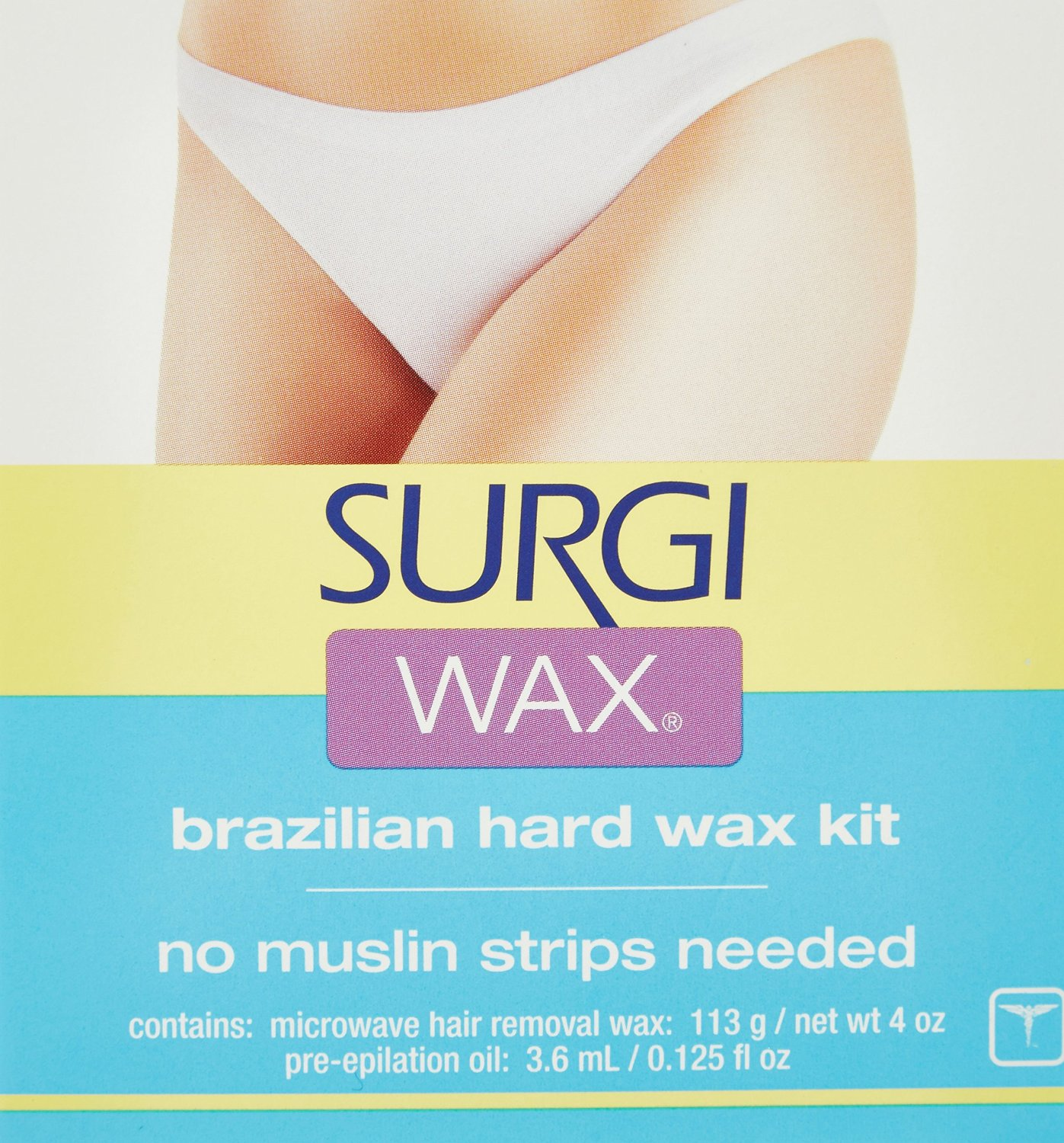 Bikini wax design kit
