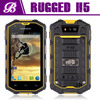 h5 mobile phone 4 inch IP68 waterproof rugged phone IPS screen android 4.2 512M+4GB MTK6572A dual core brand cell phones