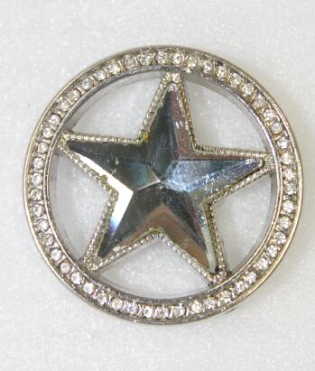 Many colors available Color Rhinestone star Concho for Western Belts