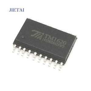 (Hot sell)New and original-TM1620-LED driver-digital tube driver chip -8-segment 6-bit ~ 10 segments 4 bits - SOP-20