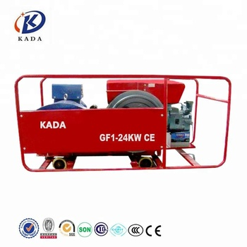 KADA Hot Sale!gf1 24kw Single Cylinder Genset Changzhou Generator 3 Phase  Generator 30kva