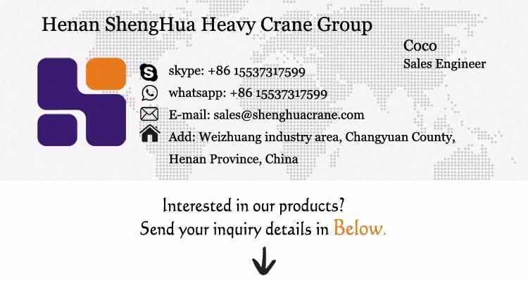 single girder gantry crane