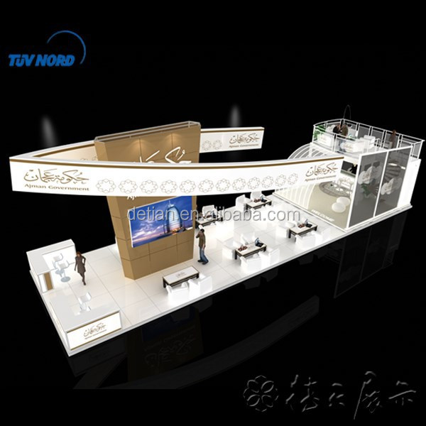 Exhibition Stand Large : Mx m large trade show exhibition booth stand double deck
