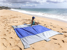 Sand Escape Compact Outdoor Nylon Beach Blanket Picnic Blanket