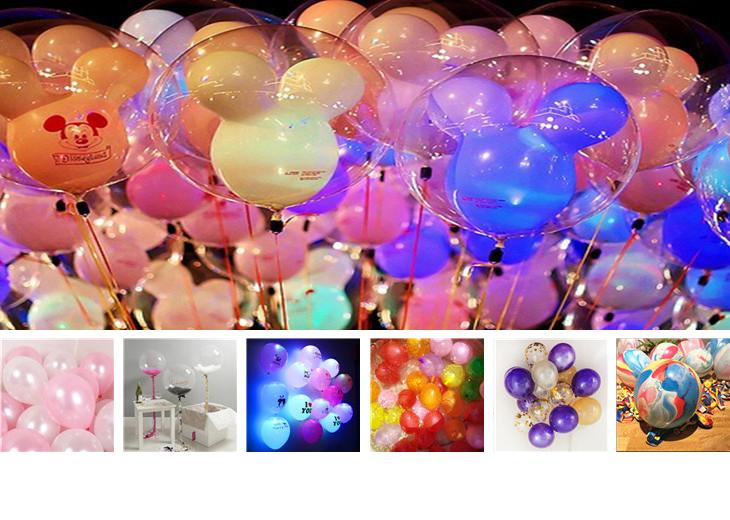 Ballonnen Met Licht : Nieuwe ontwerp party mini knipperend led licht ballon lamp helium