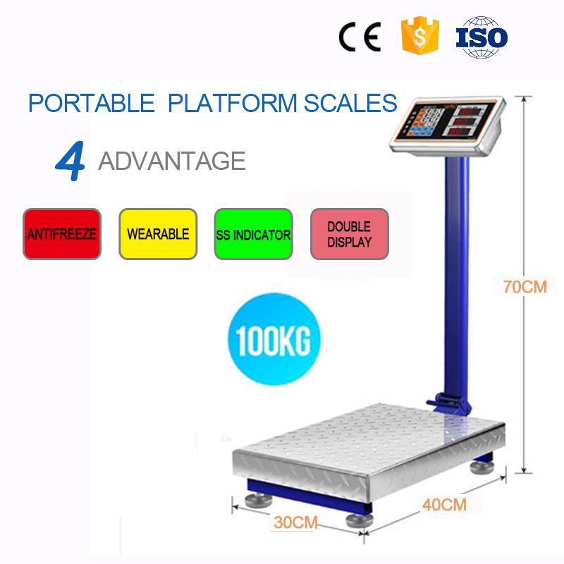 500 kg digital skala platform bluetooth timbangan