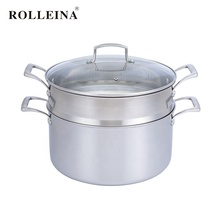 Multi-gebruik tri ply roestvrij staal koken pot voedsel <span class=keywords><strong>dim</strong></span> <span class=keywords><strong>sum</strong></span> ei stoomboot
