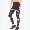 Womems Panel Yoga Apparel Pants Print Biker Leggings