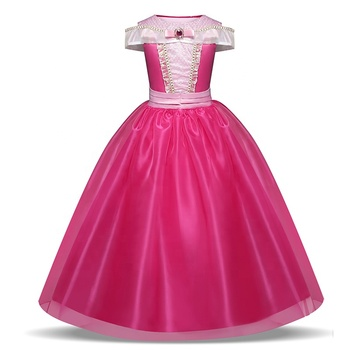 Sleeping Beauty Costumes Aurora Princess Dress Cosplay Party Costume Girl Dress