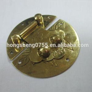 Fashion box lock cigar box lock metal lock for jewelry box